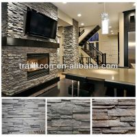 Stone Wall Panels Interior. Awesome Mantels For Fireplaces ...