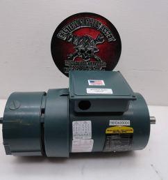 get quotations dodge baldor vbm3546t d 1hp 230 460 electric motor w dbsc 46bk brake [ 1500 x 1125 Pixel ]