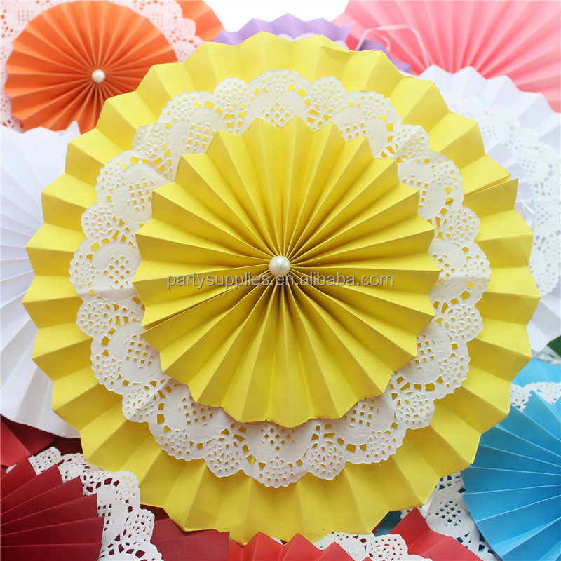 New Design Wedding Party Supplies Hanging Ceiling Paper