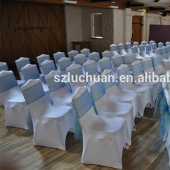 Cheap Universal Chair Covers Hon Guest Chairs Wedding Decoration White Spandex