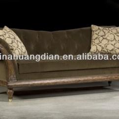 Cushion Sofa Set Flat Pack Wooden Design Hds1181
