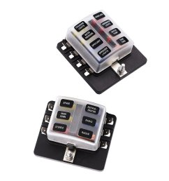 get quotations magideal 6 8 way circuit standard ato atc blade fuse box block holder pcb terminals [ 1024 x 1024 Pixel ]