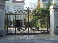 Steel Metal Entrance Gate,Wrought Iron Door Gates,Front ...