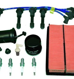 get quotations tbk tune up kit mazda miata mx5 1994 to 1997 includes air filter oil filter fuel [ 1500 x 1125 Pixel ]