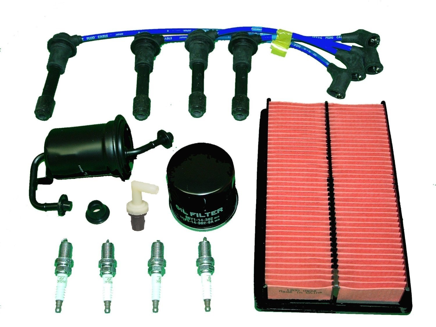 hight resolution of get quotations tbk tune up kit mazda miata mx5 1994 to 1997 includes air filter oil filter fuel