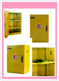 Flammable/ Corrosion Chemicals Storage Safety Cabinet ...