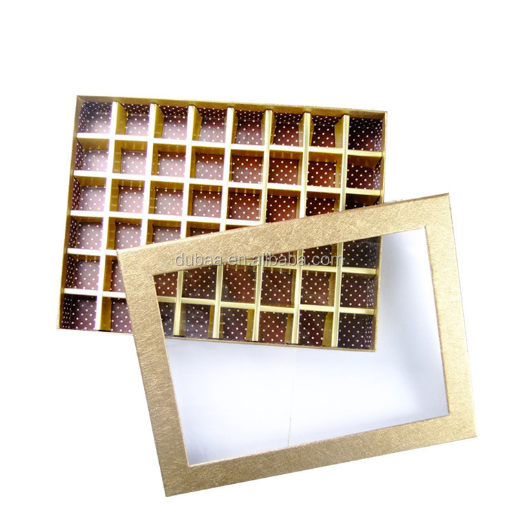 Window Box Packaging Chocolate Box Candy Box In Stock