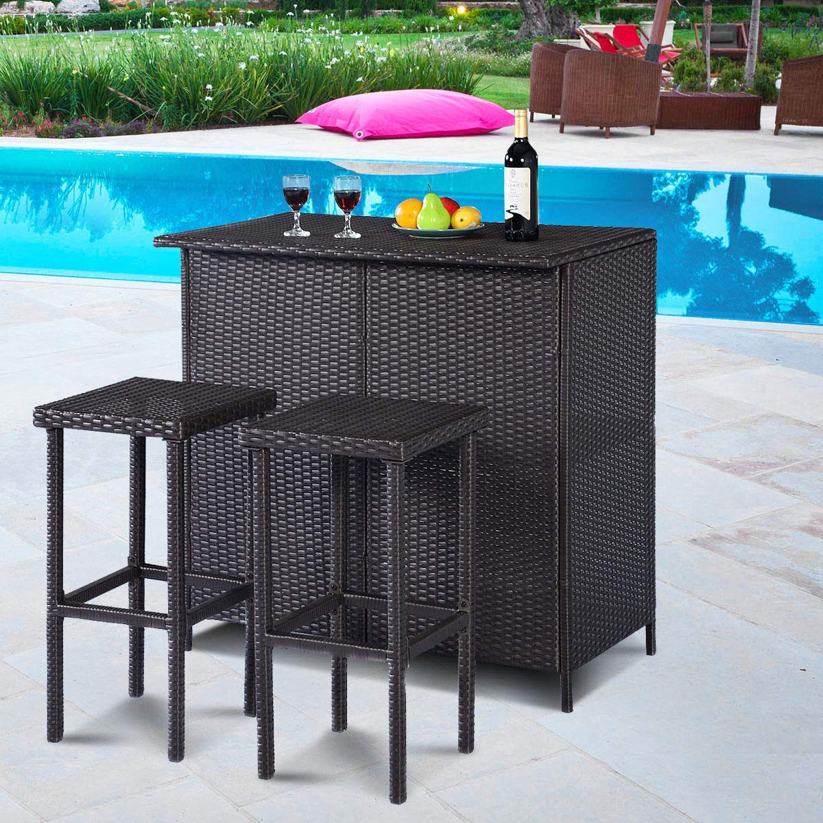 cheap patio bar stools outdoor find