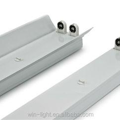 Fluorescent Light Holder Wiring Diagram Ac Split Inverter Office G13 Led Tube 120cm T5 T8 Fixtures