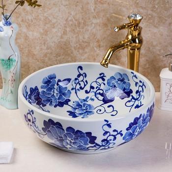 hand painted sink dimarlinperez