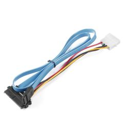 get quotations sata power cable 7 pin sata serial ata to sas 29 pin 4 pin [ 1225 x 1225 Pixel ]
