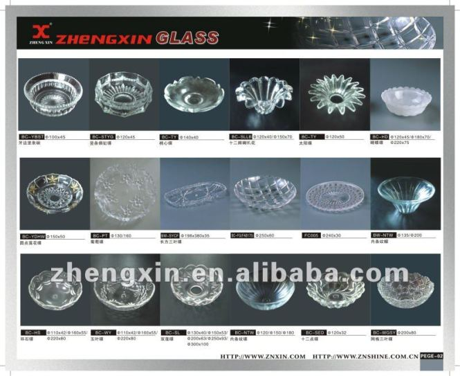 Glass Bobeche Dish For Chandelier Parts Colored Dishes Product On Alibaba