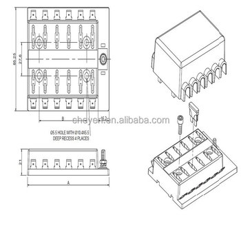 Automotive Parts,Atc Or Ato Fuses Or Plug-in Fuse Box For