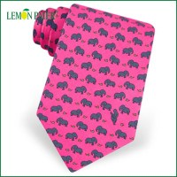 Print Logo Silk Necktie Fabric For Italian Silk Ties - Buy ...