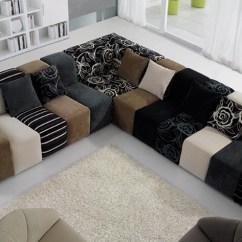 Fancy Sofa Set Design Chesterfield John Lewis 10 Seat Modern Multi Color Jacquard Fabric Designs