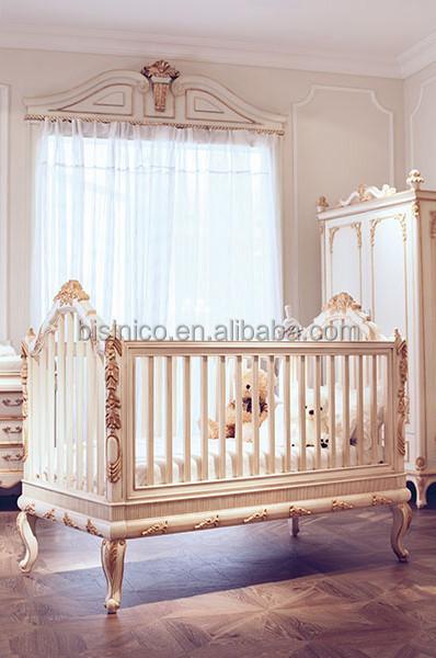 Bisini Baby FurnitureBaby Products Million Dollar Baby Classic CribEuropean Style Antique Luxury Children Bedroom Furniture  Buy Baby Furniture