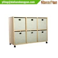 Small Lightweight Fabric Drawer Storage Shelf Cabinet For ...