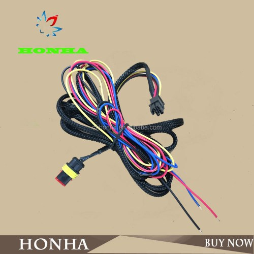 small resolution of 282080 1 tyco 2 pin female connector and molex 6 pin female connector 43025 0600 automotive wire harness