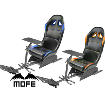 xbox one gaming chairs sure fit chair covers target ps3 driving racing simulator cockpit with steering wheel and pedals