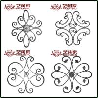 Yishujia factory wrought iron flowers iron gate ornaments ...