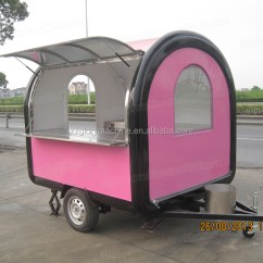 Stainless Steel Carts Kitchen Kart China Electric Food Truck Fast Van ...