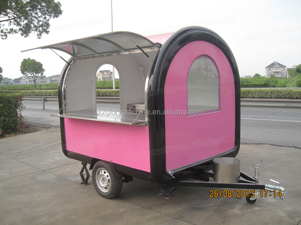 small kitchen carts on wheels tiles flooring china electric stainless steel food truck fast van ...