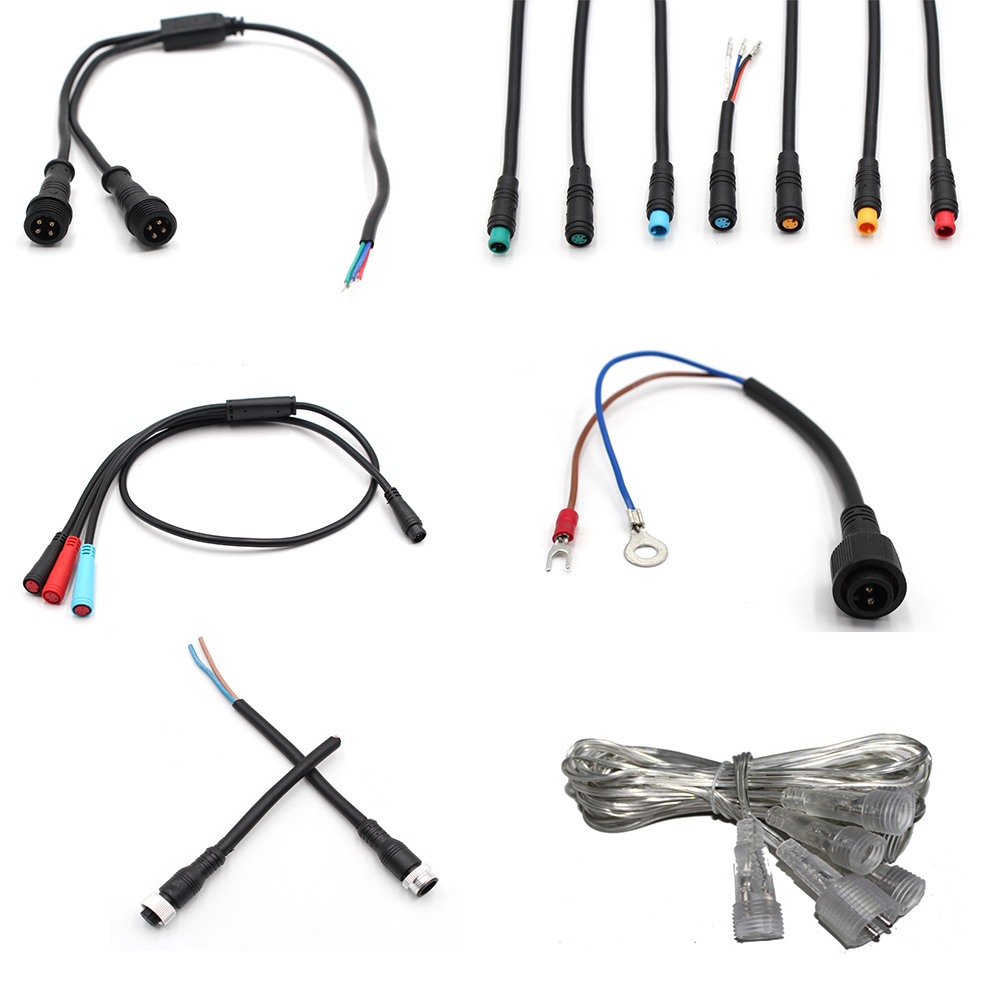 Cable Clips Molex 4 Pins 09-50-3041 To 2 4 6 Pins