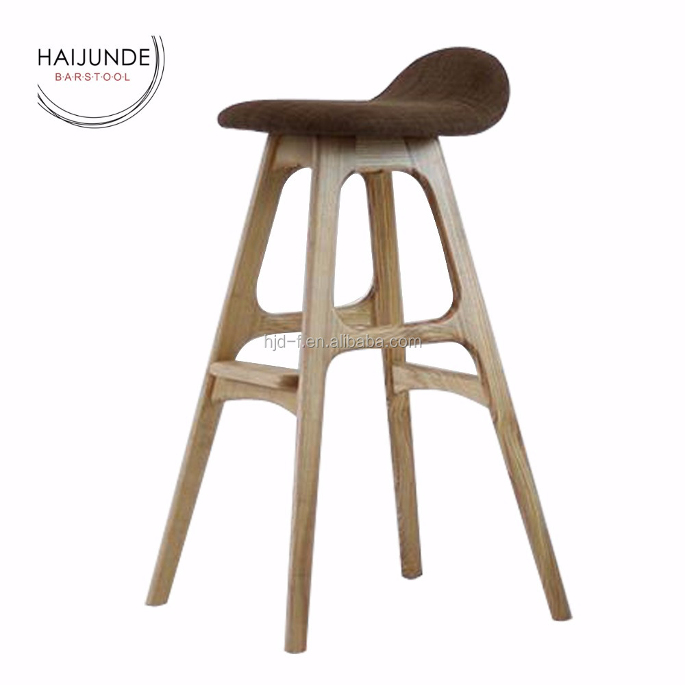 wooden kitchen stools island dining table saddle seat pu leather high buy