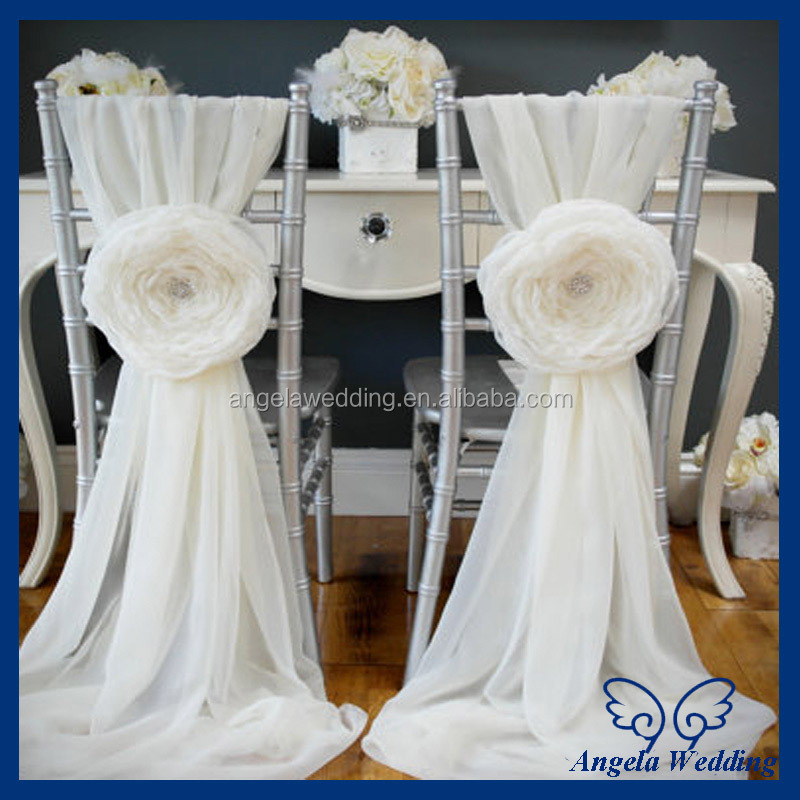 cheap burlap chair sashes rentals lincoln ne ch010a wholesale chiffon and organza white ruffled wedding cover with buckle - buy ...