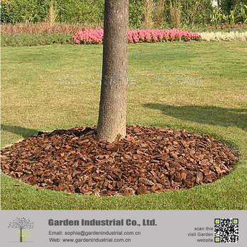 garden wood bark mulch in stock