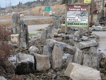 lady king basalt landscape rock