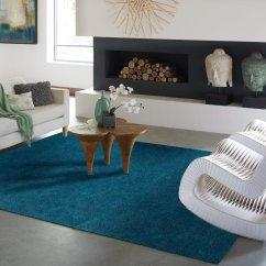 Living Rooms With Blue Area Rugs Apartment Room Design Ideas Cheap Solid Rug Find Deals On Line At Get Quotations Luxury Shag For And Bedroom 5x7