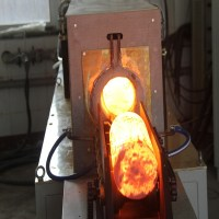 Steel Billets Igbt Induction Forging Heating Furnace