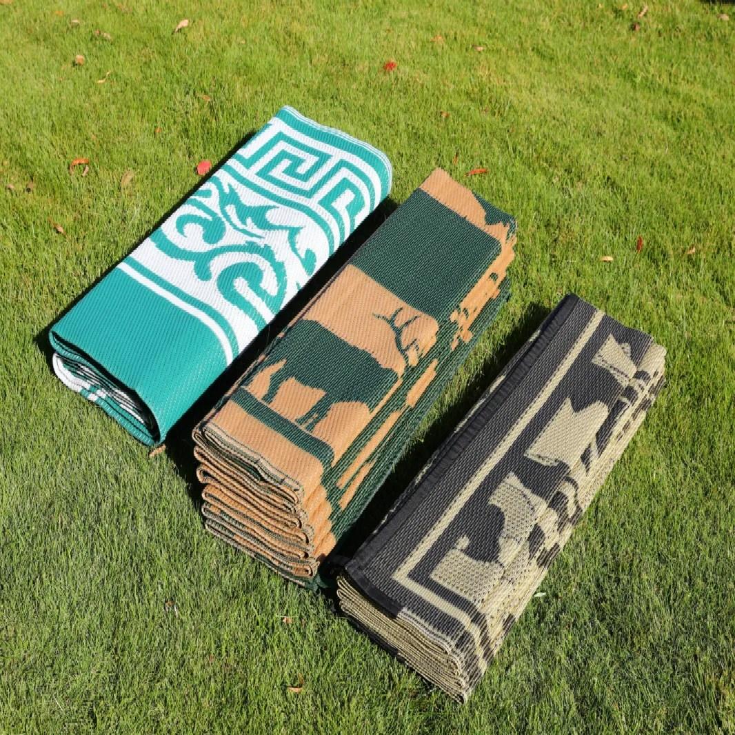 znz tapis de patio en plastique pliable tapis d exterieur tisse en pp buy tapis en plastique recycle tapis d exterieur en plastique grand tapis de