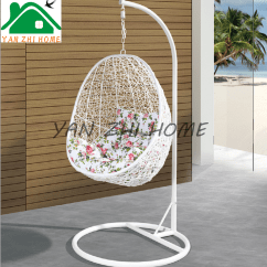 Indoor Hanging Egg Chair With Stand Office Luxury Yanzhihome Cheap Price Outdoor Patio Rattan Wicker Swing Metal ...