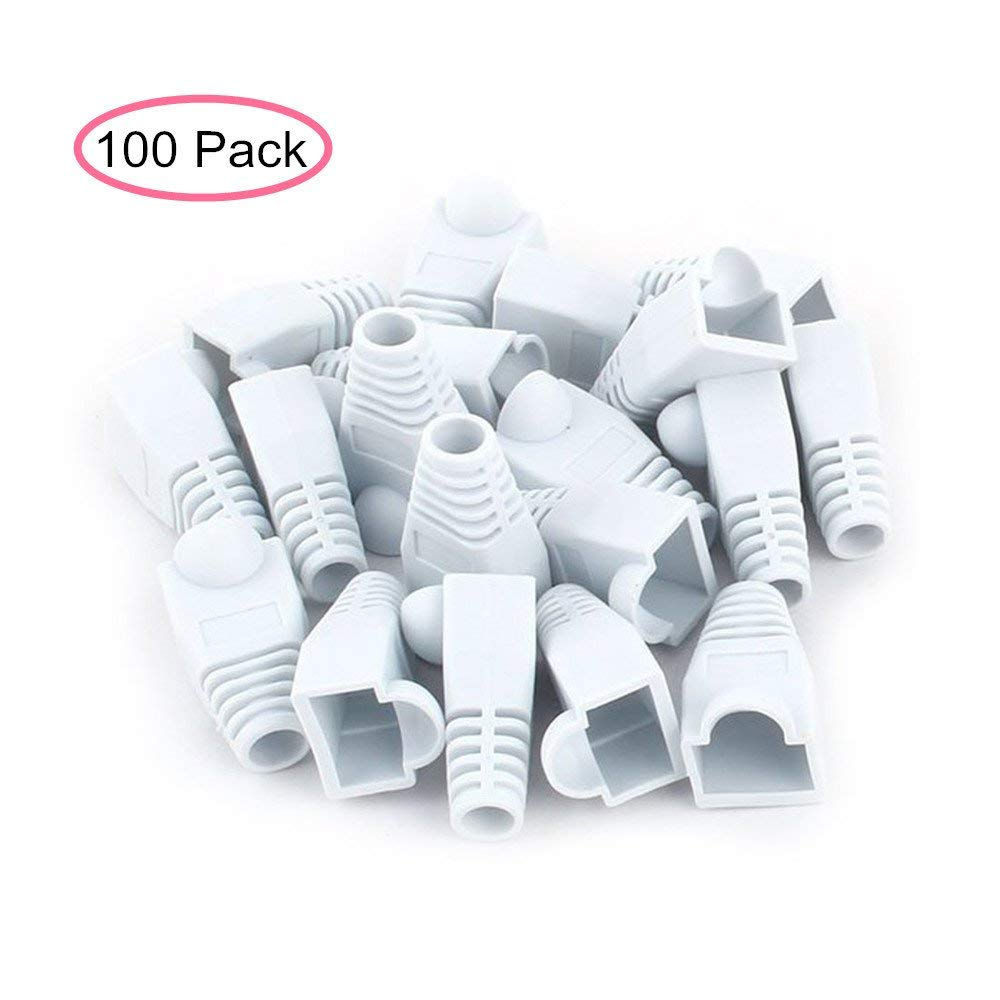 hight resolution of get quotations aisibo white color rj45 plug connector network jumper cable soft plastic ethernet rj45 connector cat5