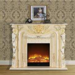 Interior Color Design For Living Room A Elegant Rococo Style Mantelpiece Fireplace,hand Carved ...