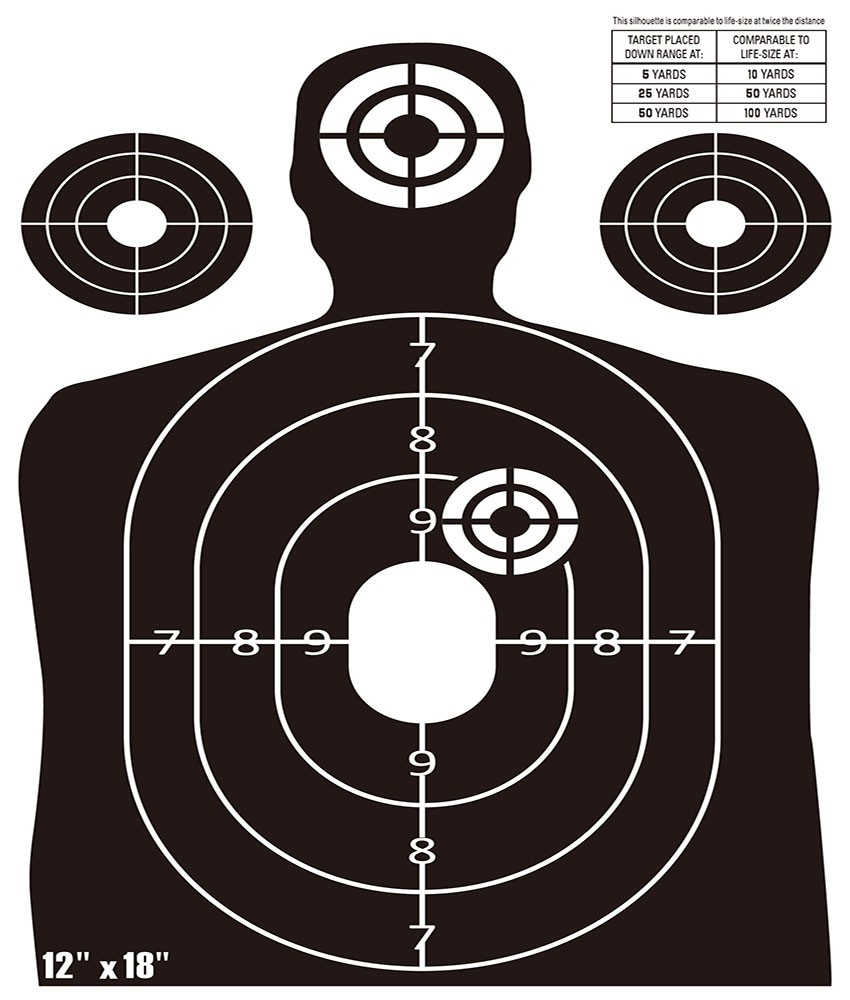 New Product 2017cheap Splatter Targets 6 Adhesive
