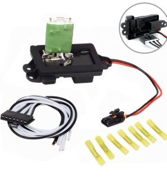 get quotations faersi hvac fan blower motor resistor kit with harness for 04 07 buick rainier 02 [ 1010 x 1010 Pixel ]