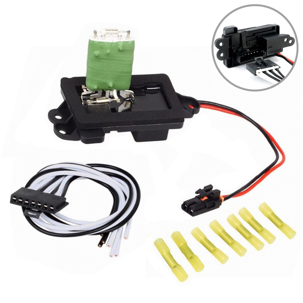 hight resolution of get quotations faersi hvac fan blower motor resistor kit with harness for 04 07 buick rainier 02