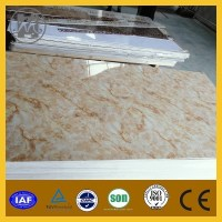 Sale White Faux Marble Slab Marble Wall Panels