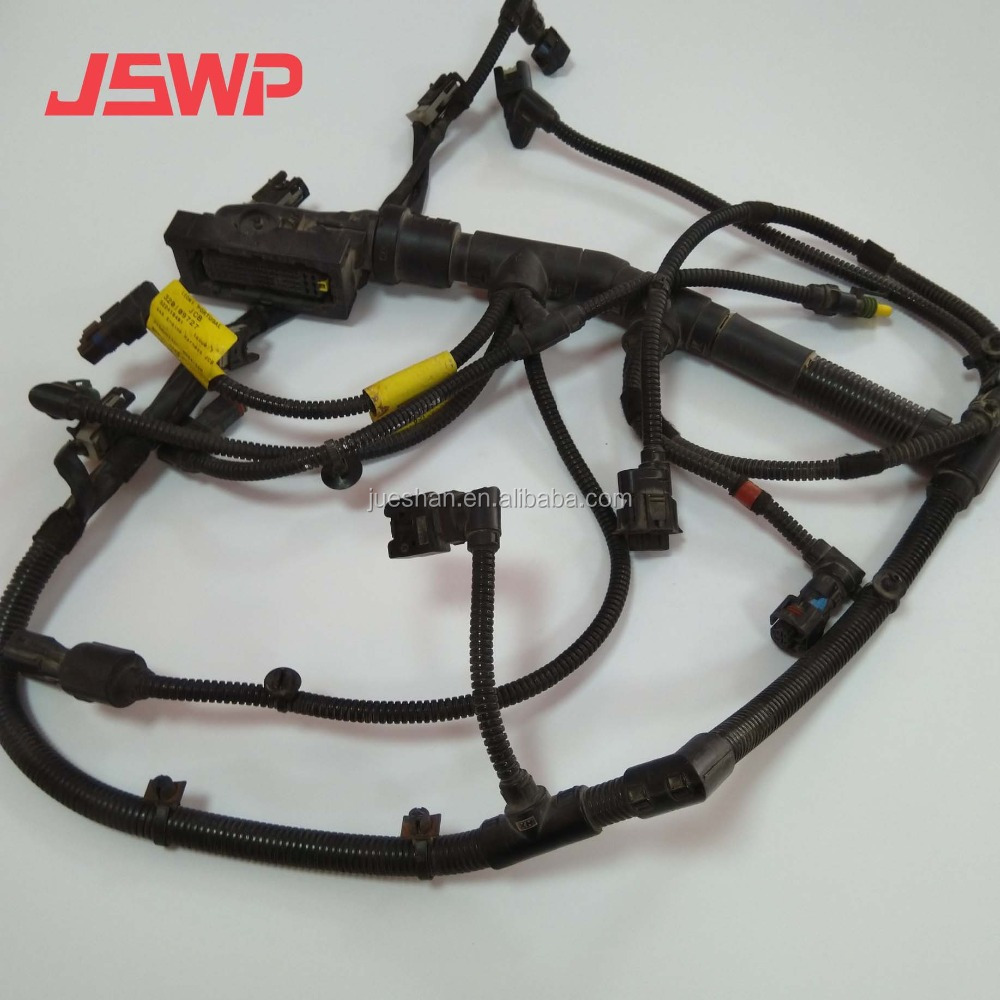 hight resolution of engine wiring harness 320 09727 for jcb js200 excavator