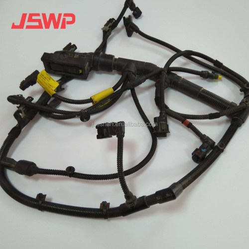 small resolution of engine wiring harness 320 09727 for jcb js200 excavator