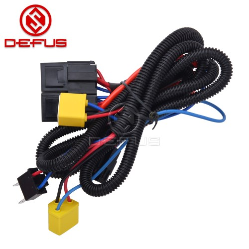 small resolution of high quality h4 9003 headlight booster cable wire harness connector relay fuse socket black h4 headlight connector fuse socket