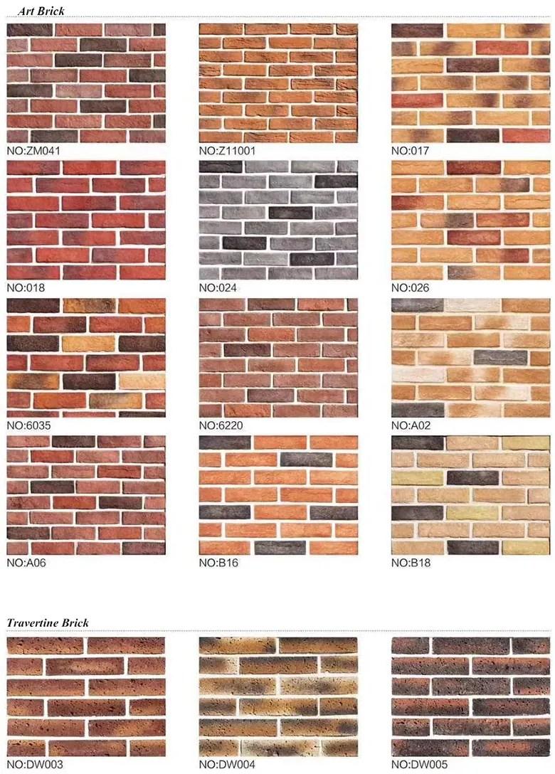 new products tiles wall panels thin brick veneer tile buy thin brick veneer tile exterior brick imitation panel brick veneer panels product on