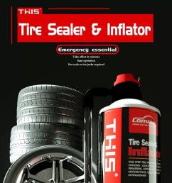 china private label best vehicle automatic portable emergency tire sealer tire inflator [ 1000 x 1000 Pixel ]