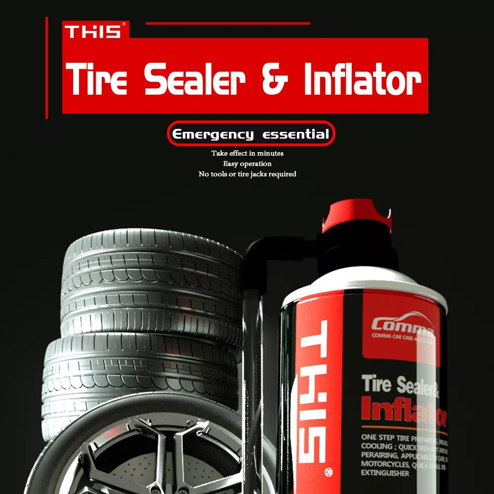 hight resolution of china private label best vehicle automatic portable emergency tire sealer tire inflator