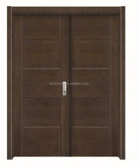 Pvc Indian Style Wooden Main Door Designs Double Door