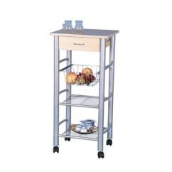 Kitchen Serving Cart Sensor Faucet Restaurant Mobile Food Trolley Buy