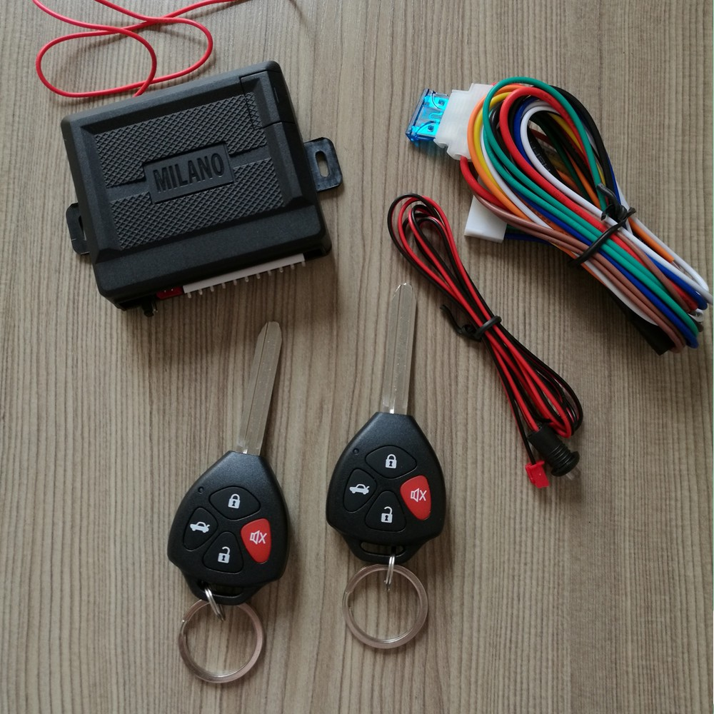medium resolution of milano keyless entry system dubai with remote control lock and unlock trunk release parking light with led